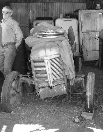 The Son and the Ferguson tractor