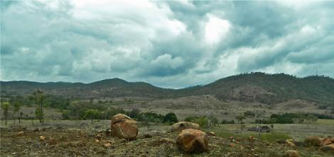 Boulder storm